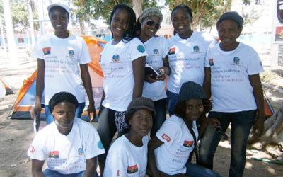 Myndiggjøring av ungdom i Angola