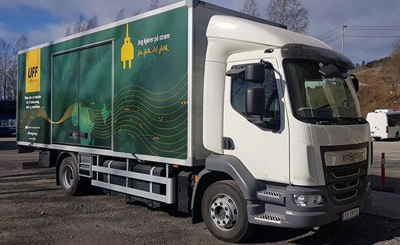 UFF Norge – Europas miljøvinner på transport
