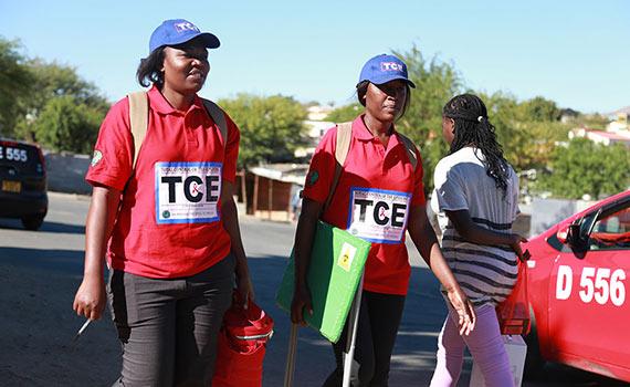 Livreddende behandling og forebygging av HIV og turberkulose i Namibia