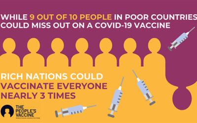 """Vi krever en """"folke vaksine"""" for å beskytte menneskeheten"""