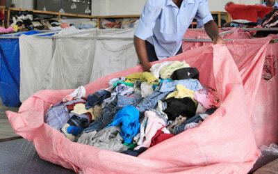 Kartlegging av brukte tekstiler og tekstilavfall i Norge